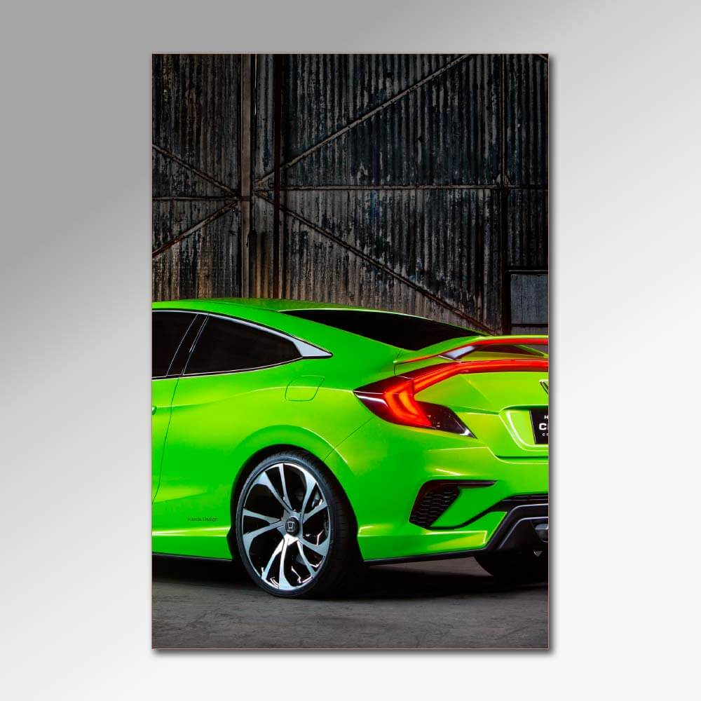 Placa Decorativa - Carros
