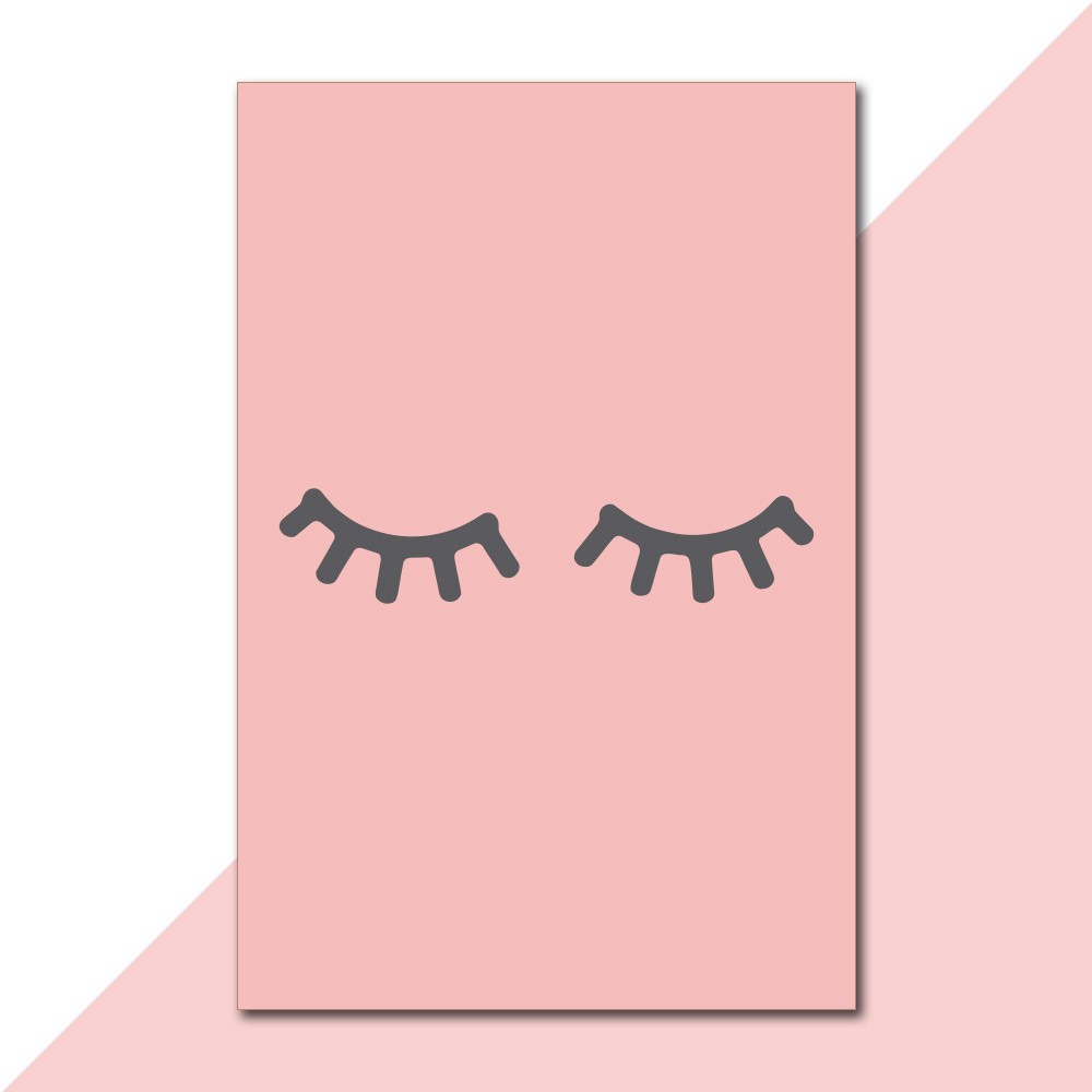 Placa Decorativa - Cute Eyes