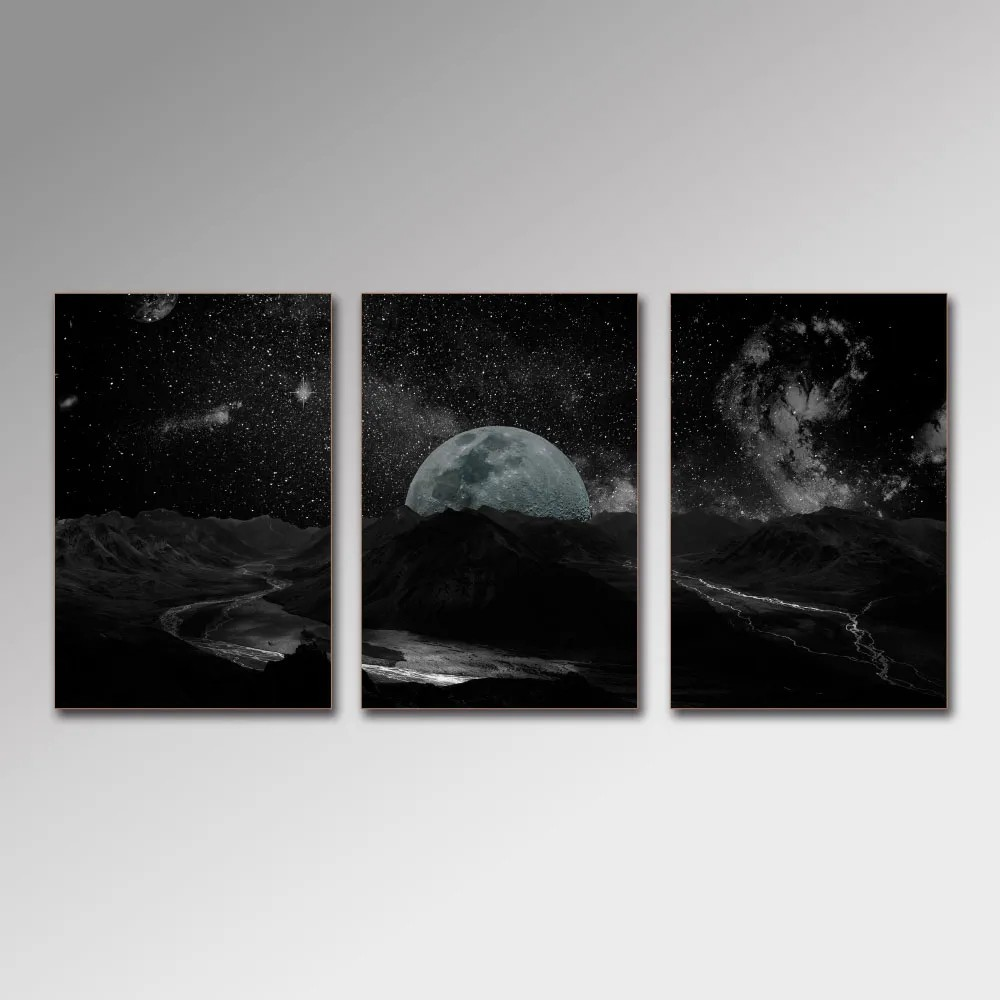 Placa Decorativa - Dark Space