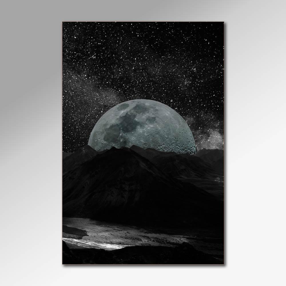 Placa Decorativa - Dark Space