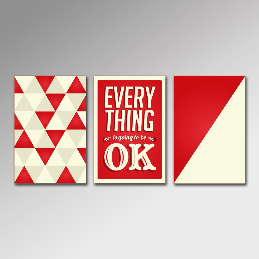 Placa Decorativa - Everything Is Going to be Ok