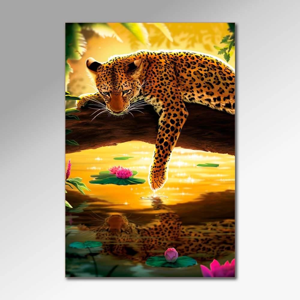 Placa Decorativa - Felinos