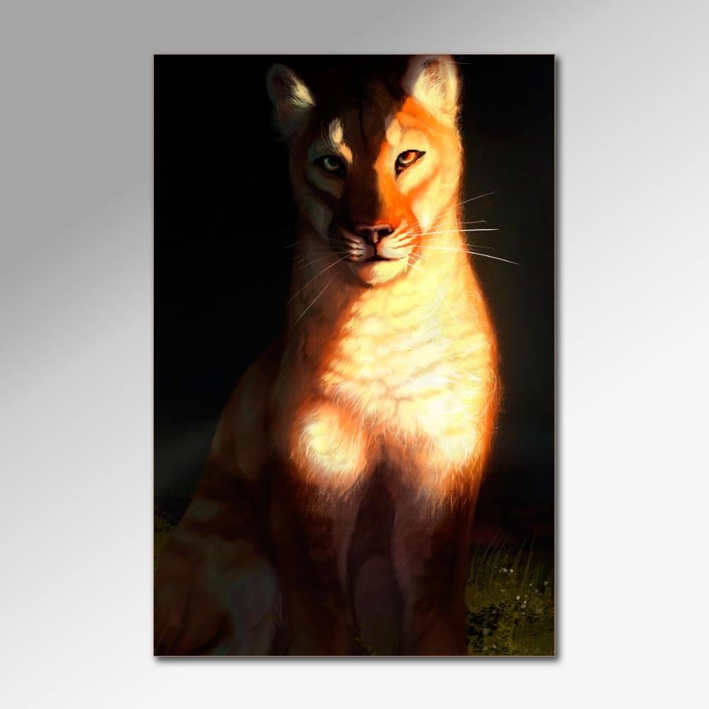 Placa Decorativa - Felinos 2