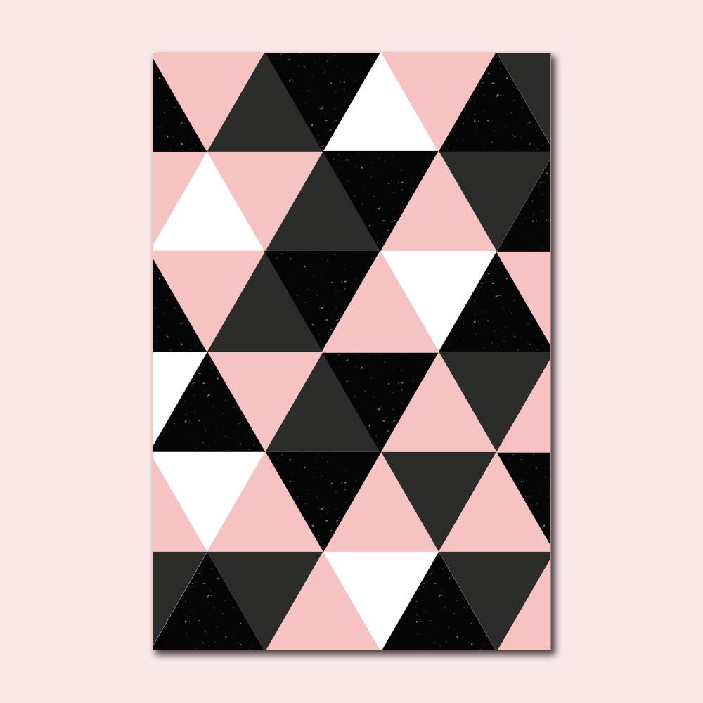 Placa Decorativa - Formas Rose