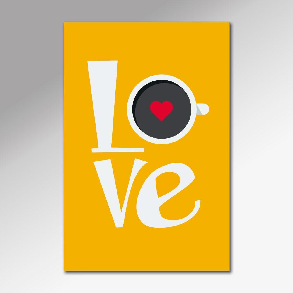 Placa Decorativa - Love 3
