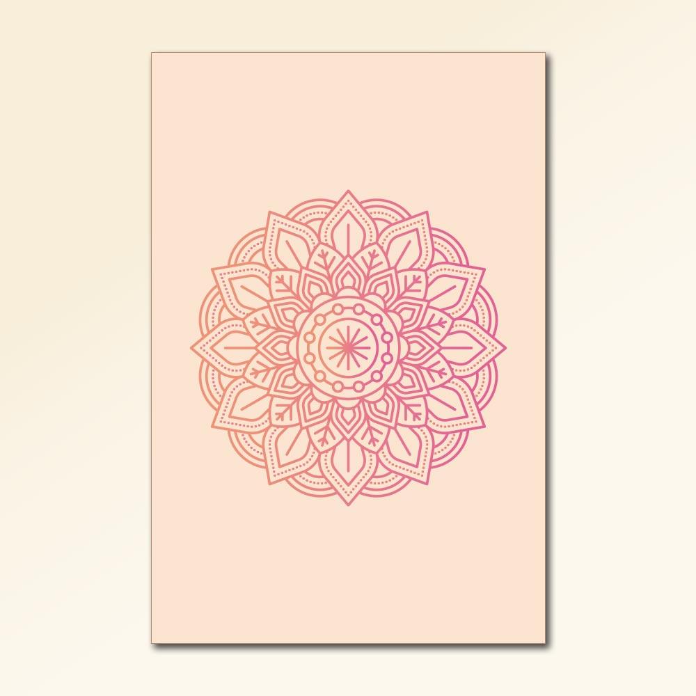 Placa Decorativa - Mandalas