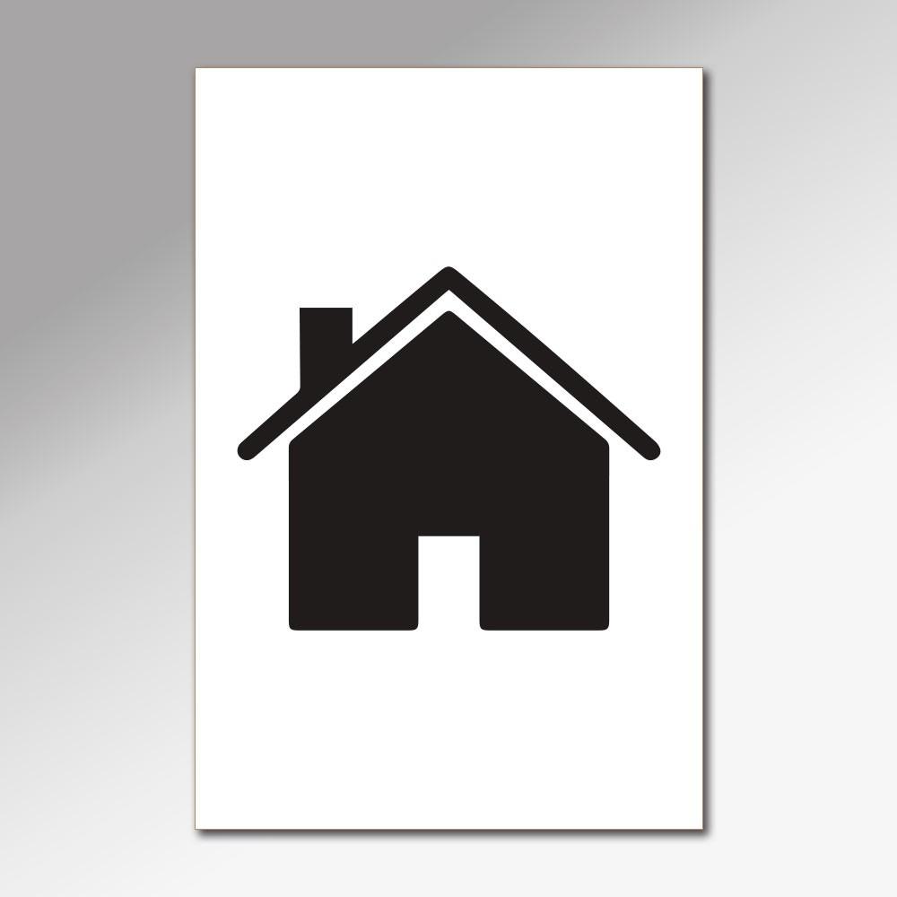 Placa Decorativa - Nesta Casa