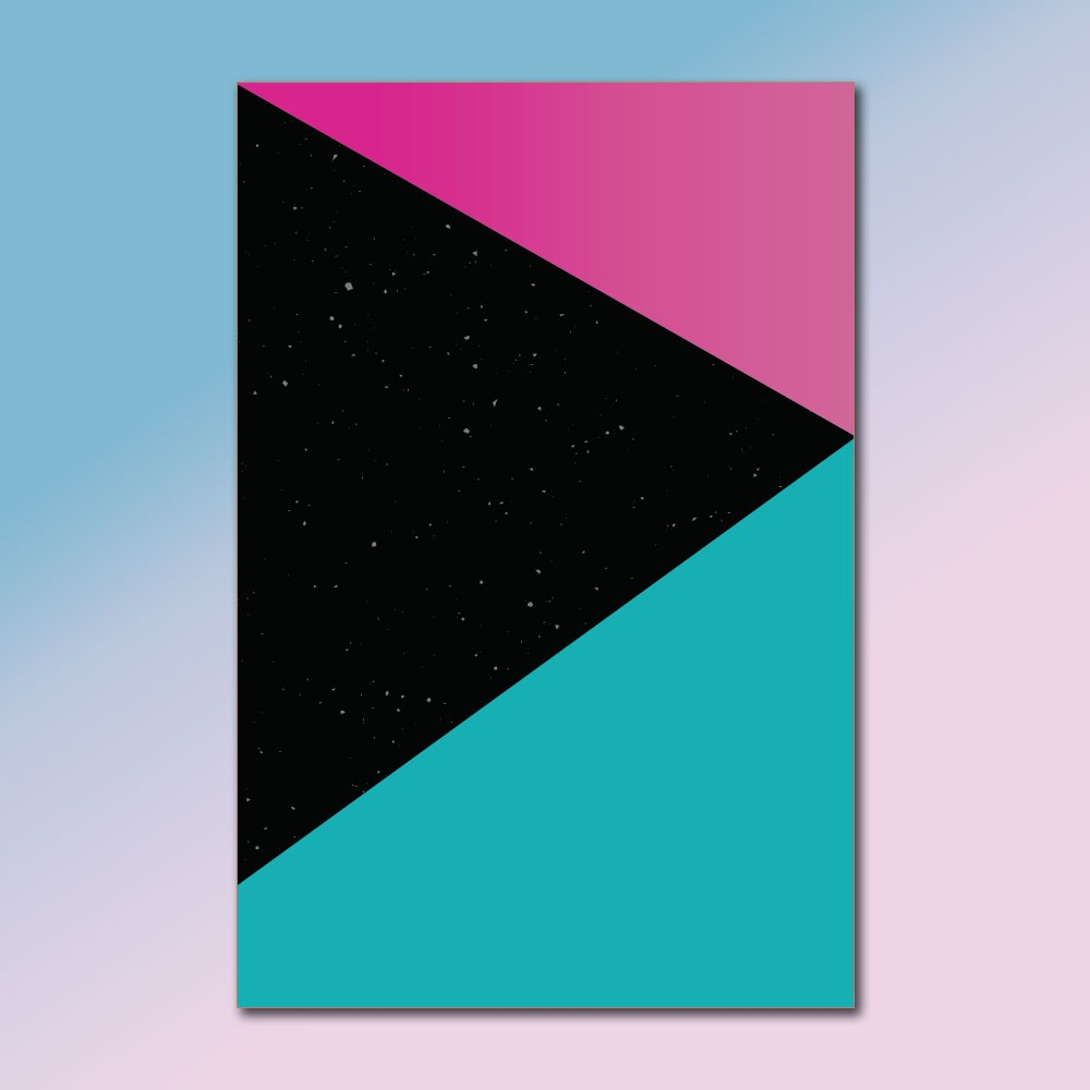 Placa Decorativa - O Toque nas Estrelas