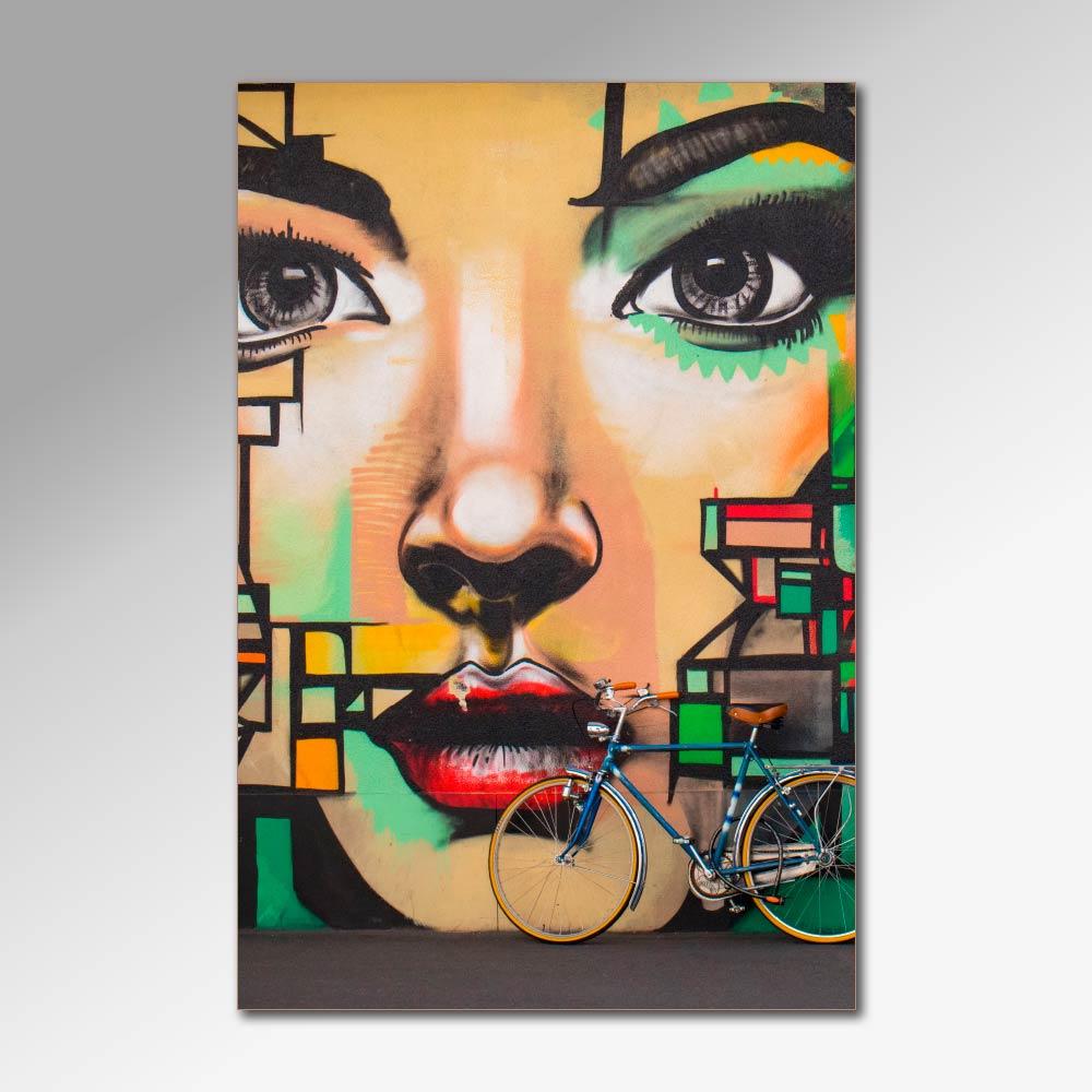 Placa Decorativa - Olhares