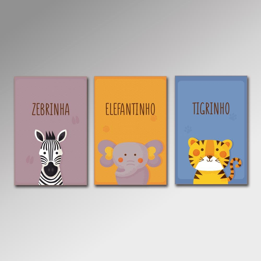Placa Decorativa - Pequenos Animais 2
