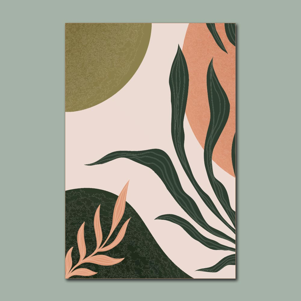 Placa Decorativa - Plantas