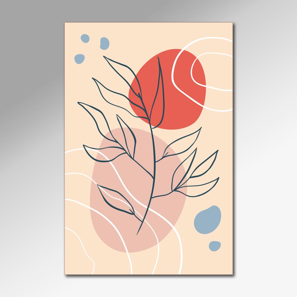Placa Decorativa - Plantas 3