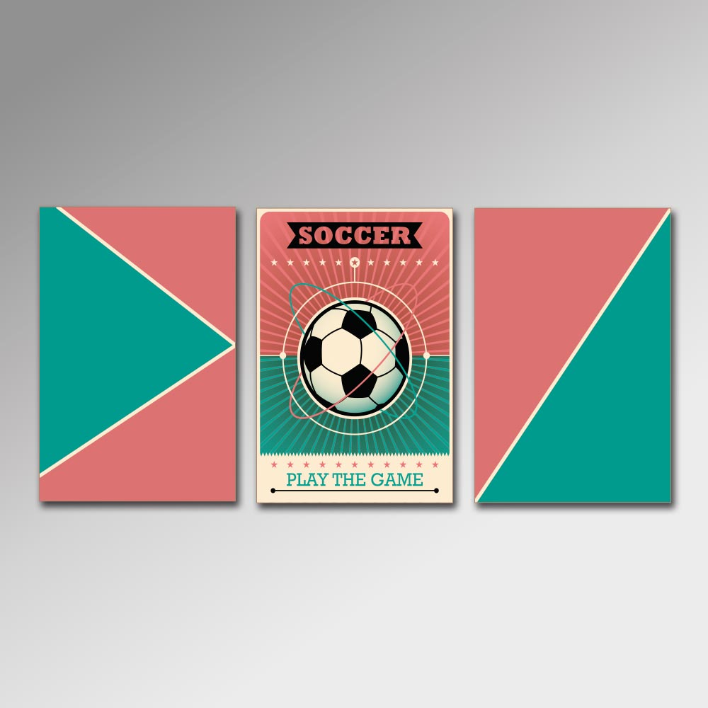 Placa Decorativa - Soccer