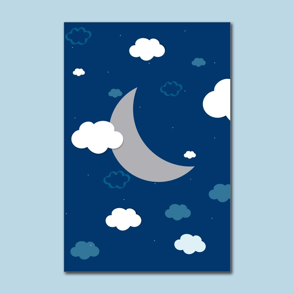 Placa Decorativa - Sonhe alto meu pequeno