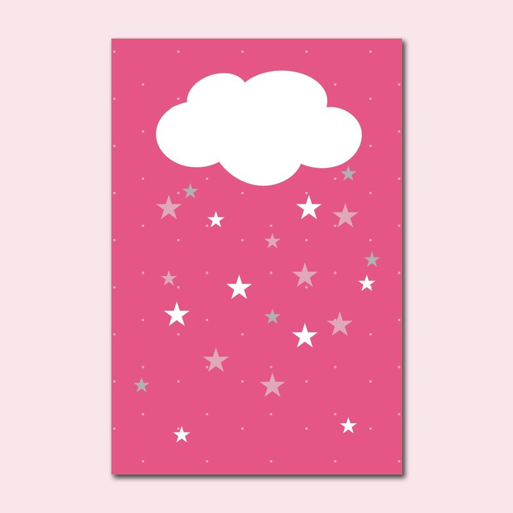 Placa Decorativa - Sonhe alto minha pequena