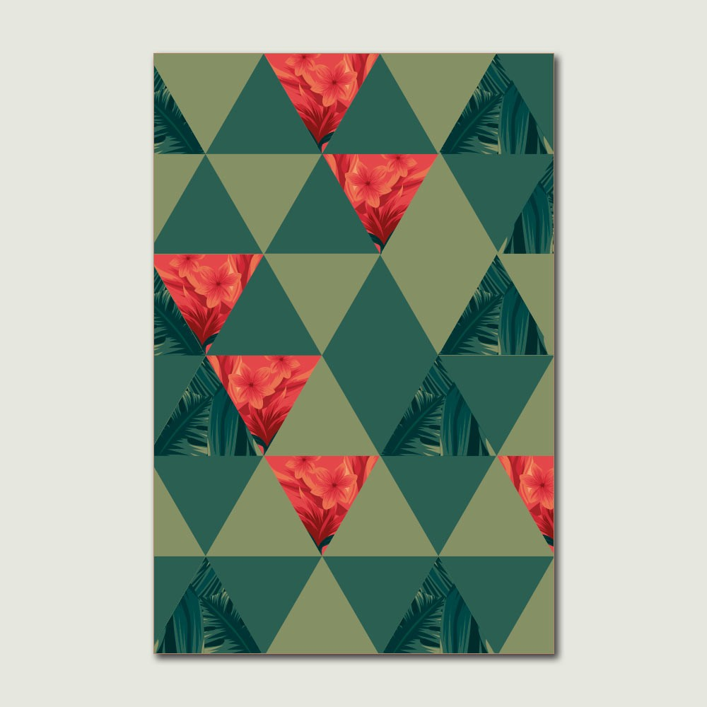 Placa Decorativa - Tropical