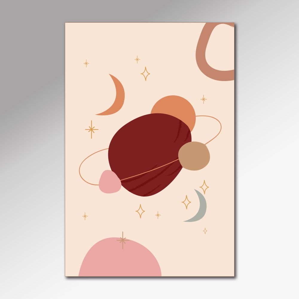 Placa Decorativa - Universe in Peace