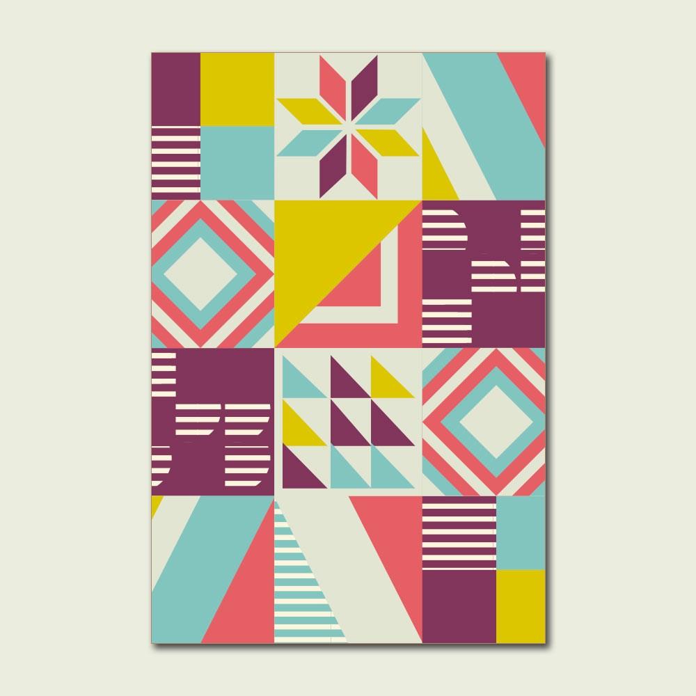 Placa Decorativa - Viver uma vida criativa