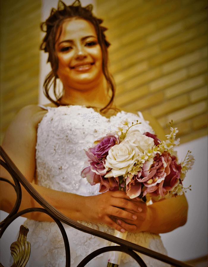 Buque de Noiva Monterosso | Coleção Amor Eterno