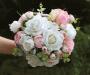 Buque de Noiva Florença Branco | Coleção Amor Eterno.