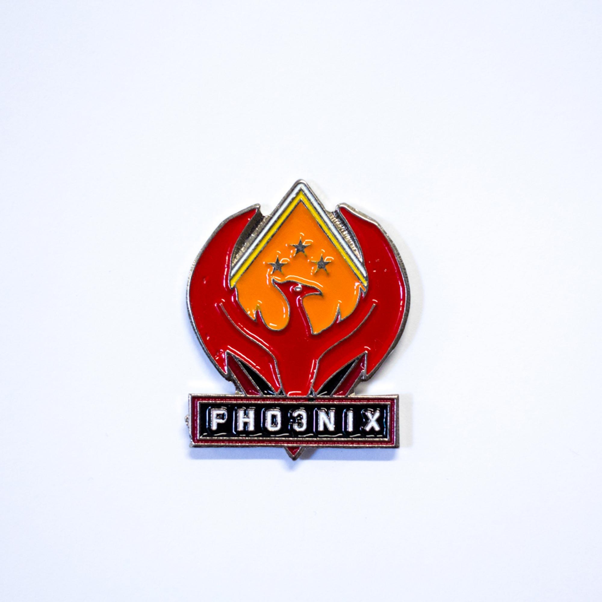 Broche Phoenix