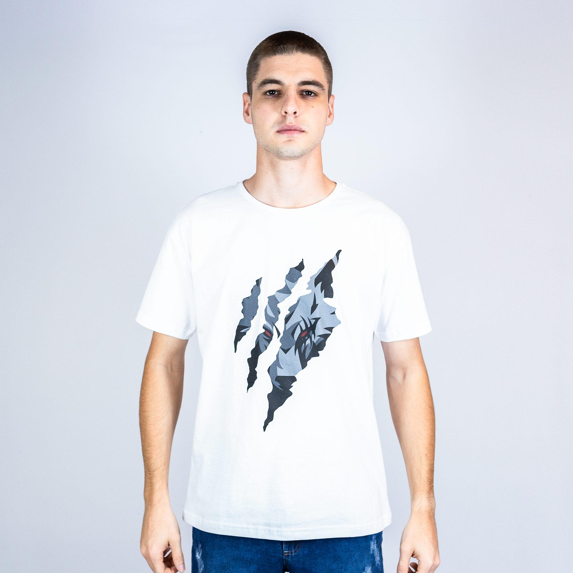 Camiseta Boom Esports Hungry Branca