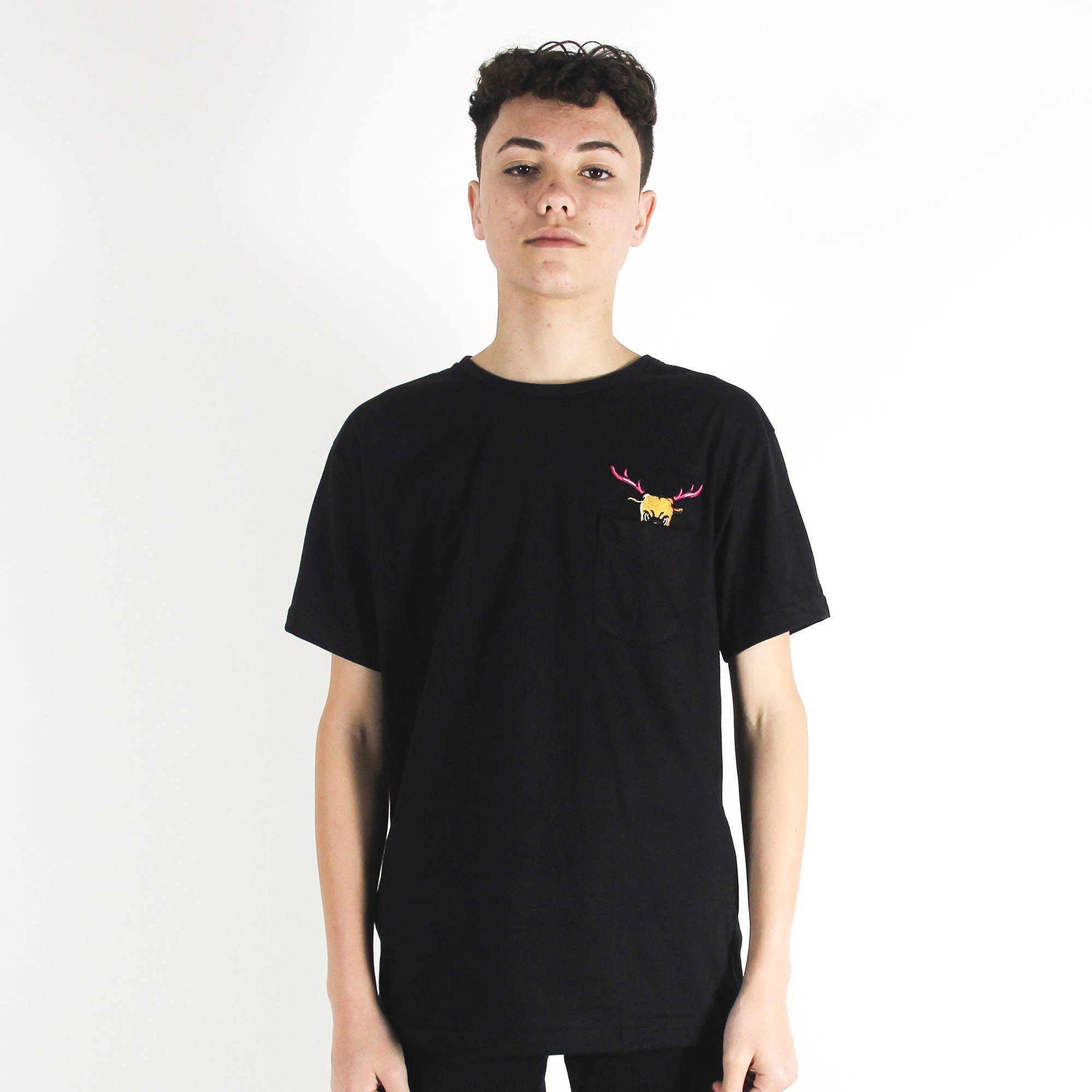 Camiseta Deercheerup Oficial Preta #1