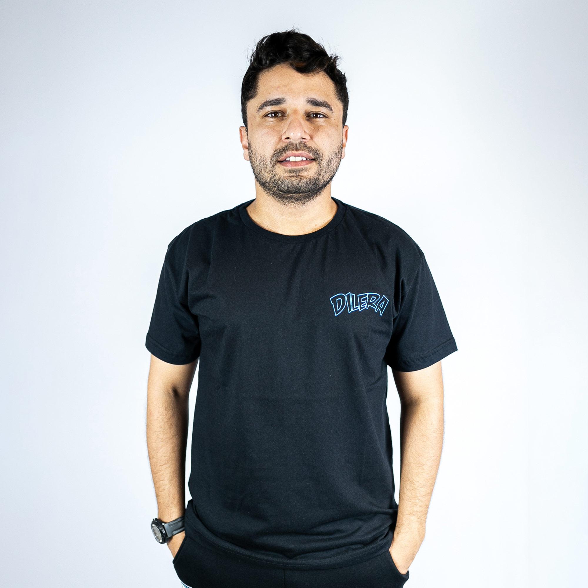 Camiseta Dilera Super Preta