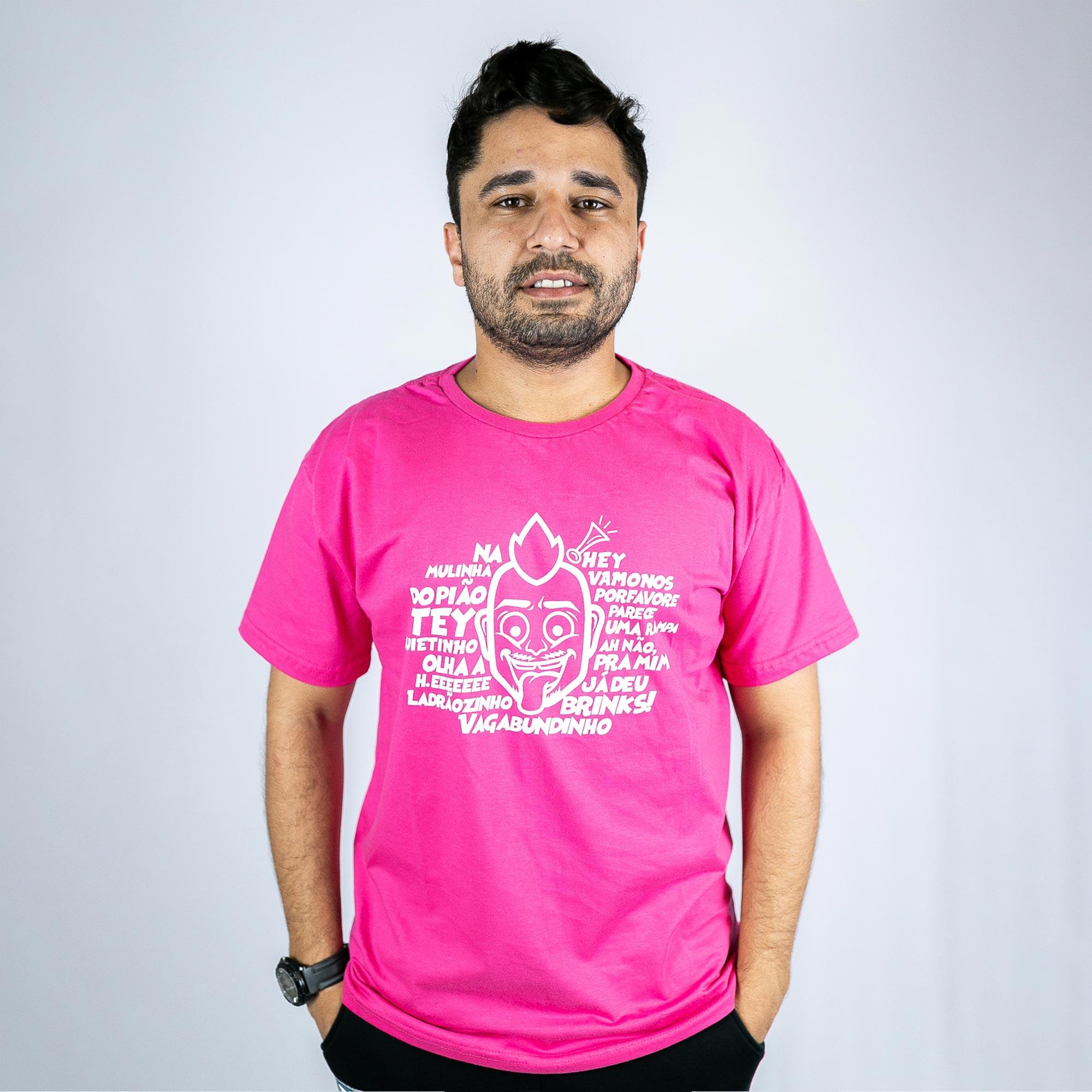 Camiseta Dilera Tique Master Rosa