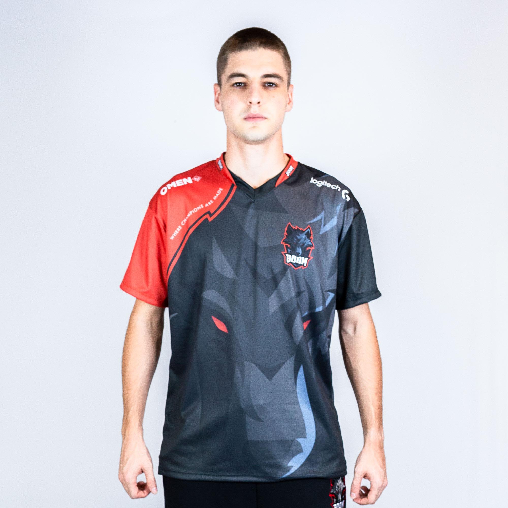 Camiseta Jersey Boom Esports Oficial