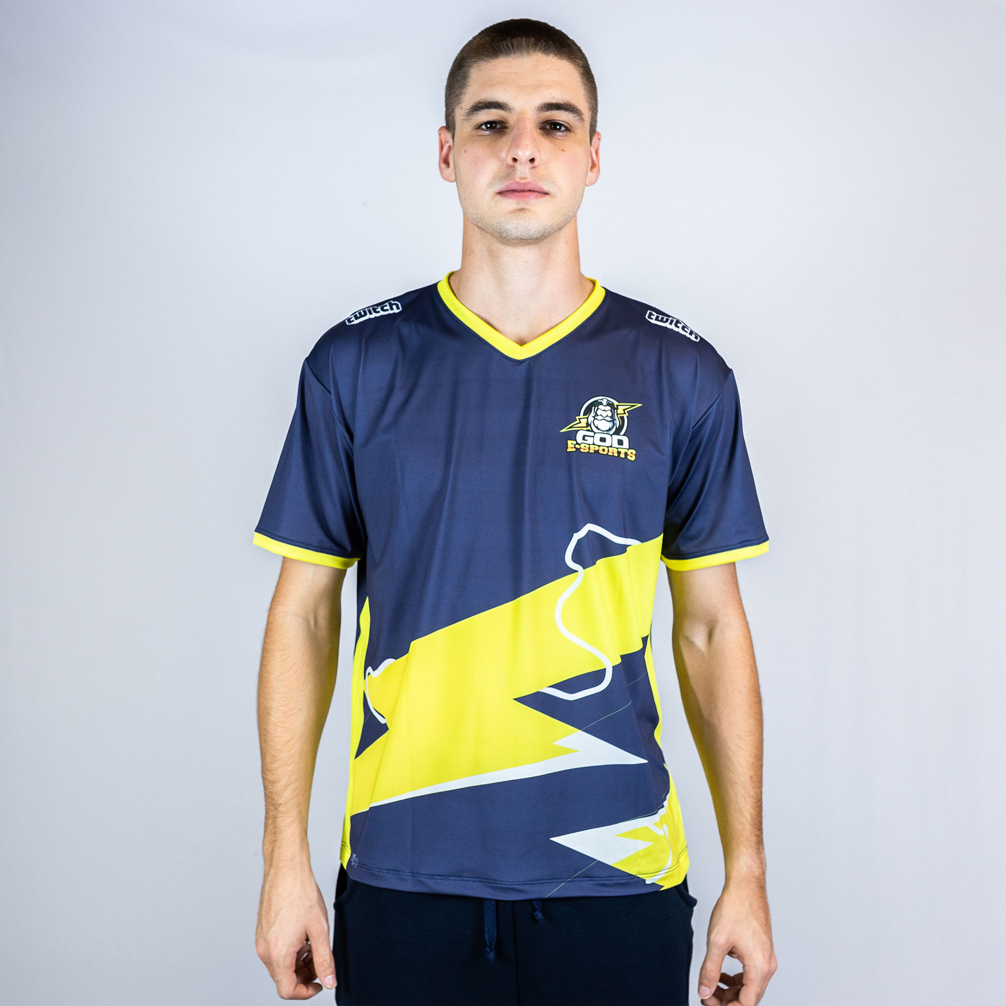 Camiseta Jersey God Esports Torcedor Oficial Azul