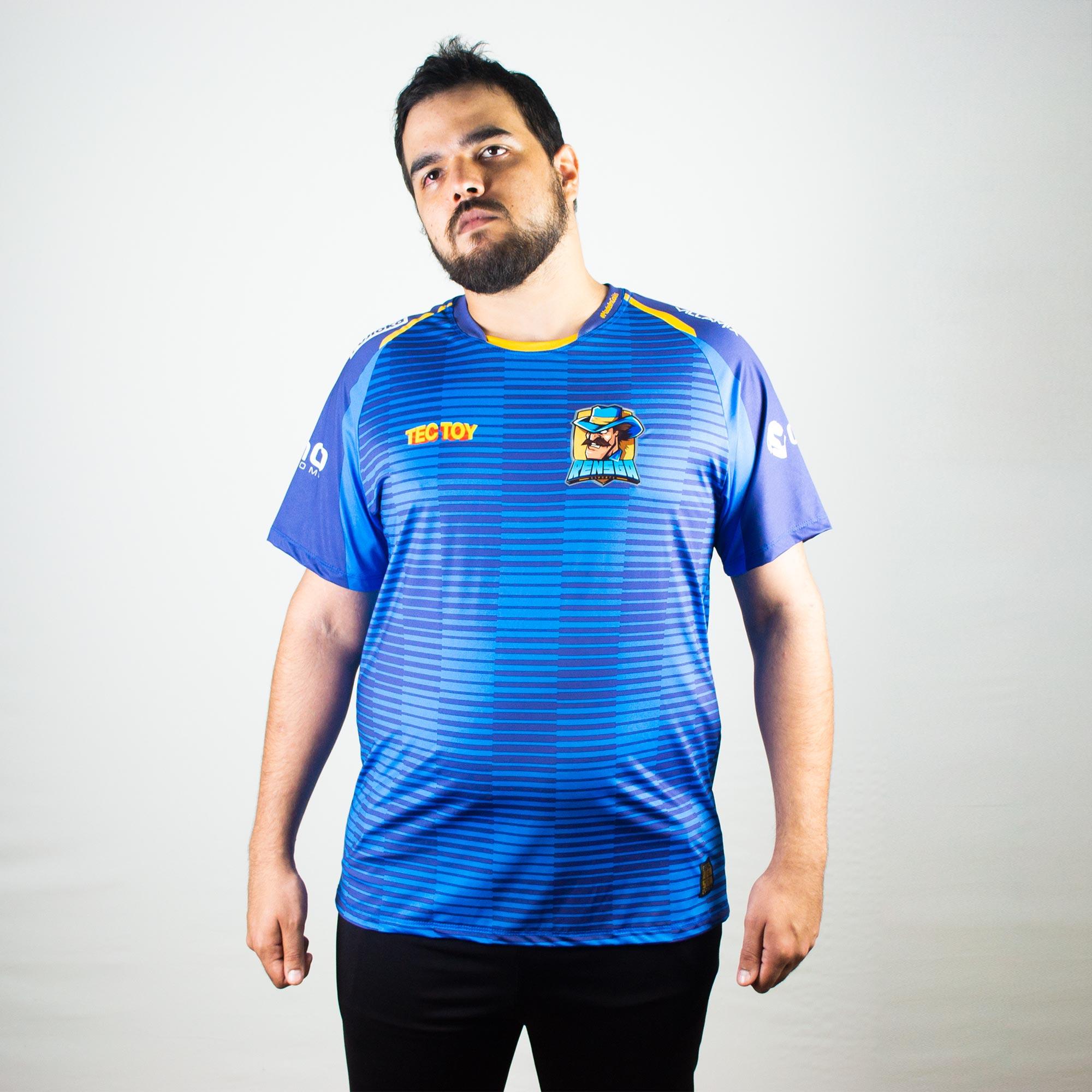 Camiseta Jersey Rensga Azul