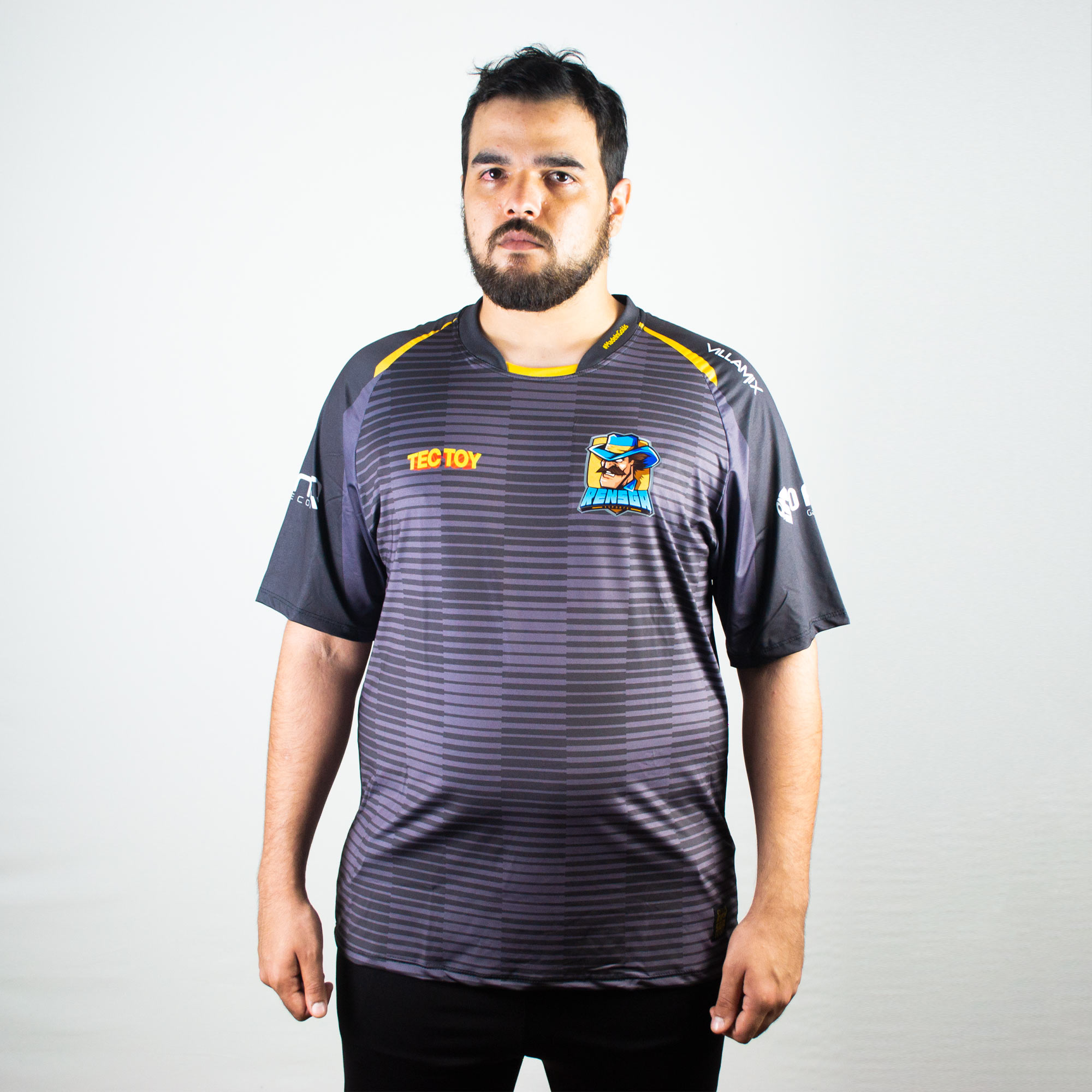Camiseta Jersey Rensga Preta