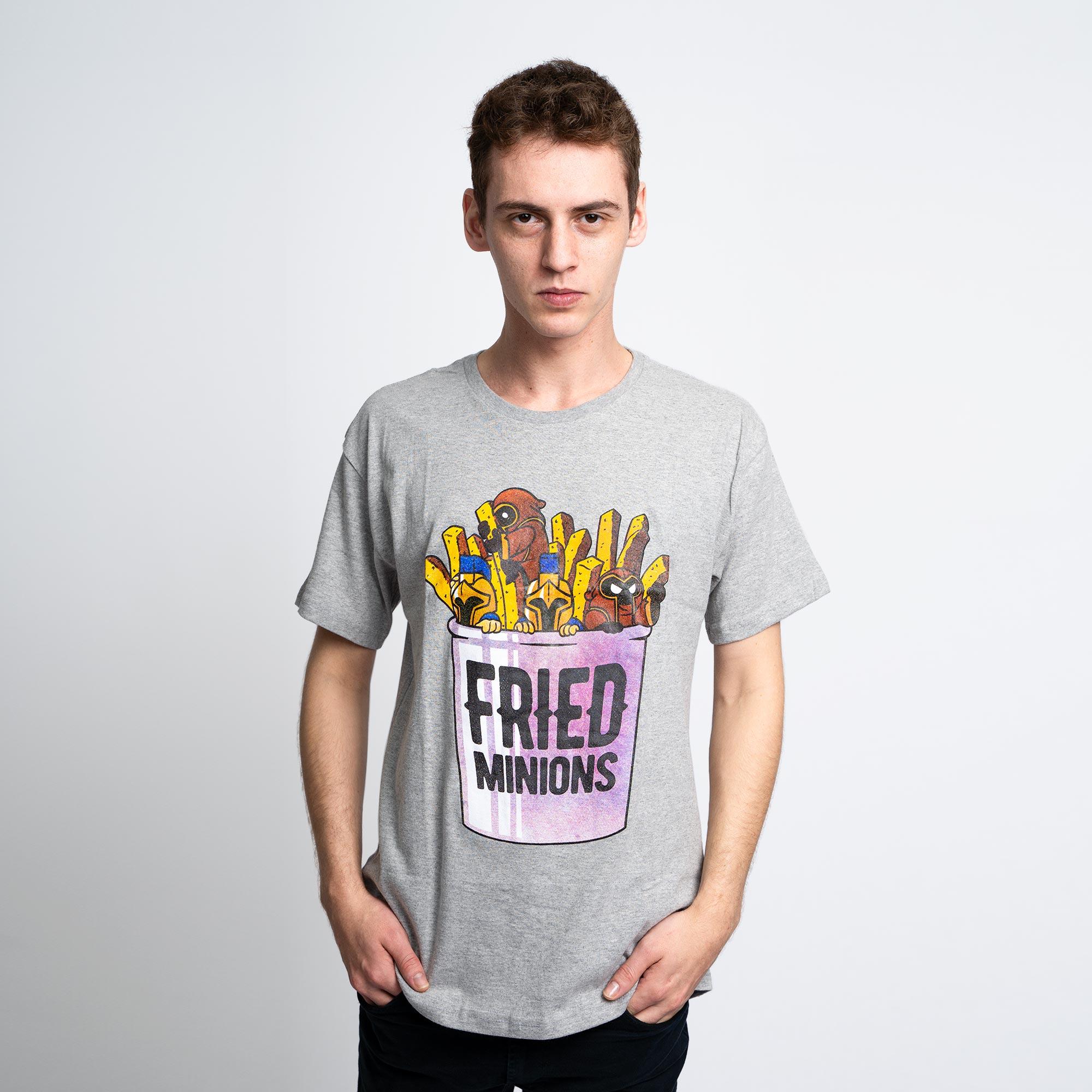 Camiseta Fried Minions Mescla