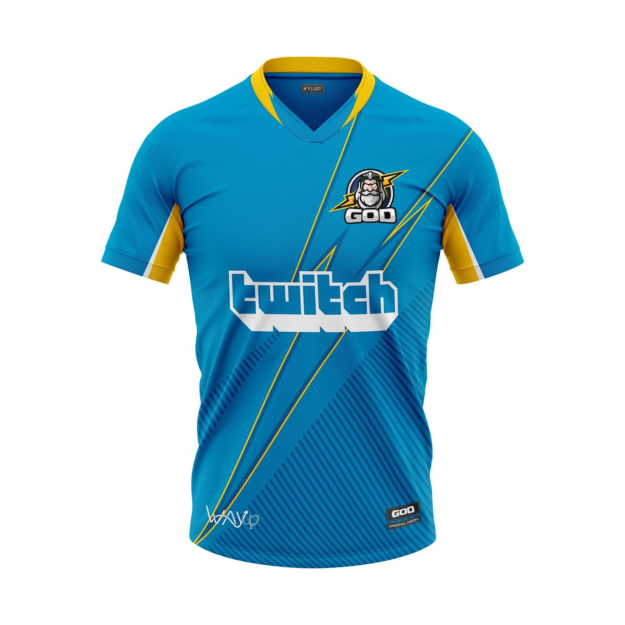 PRÉ VENDA | Camiseta Jersey God Esports Oficial 2021