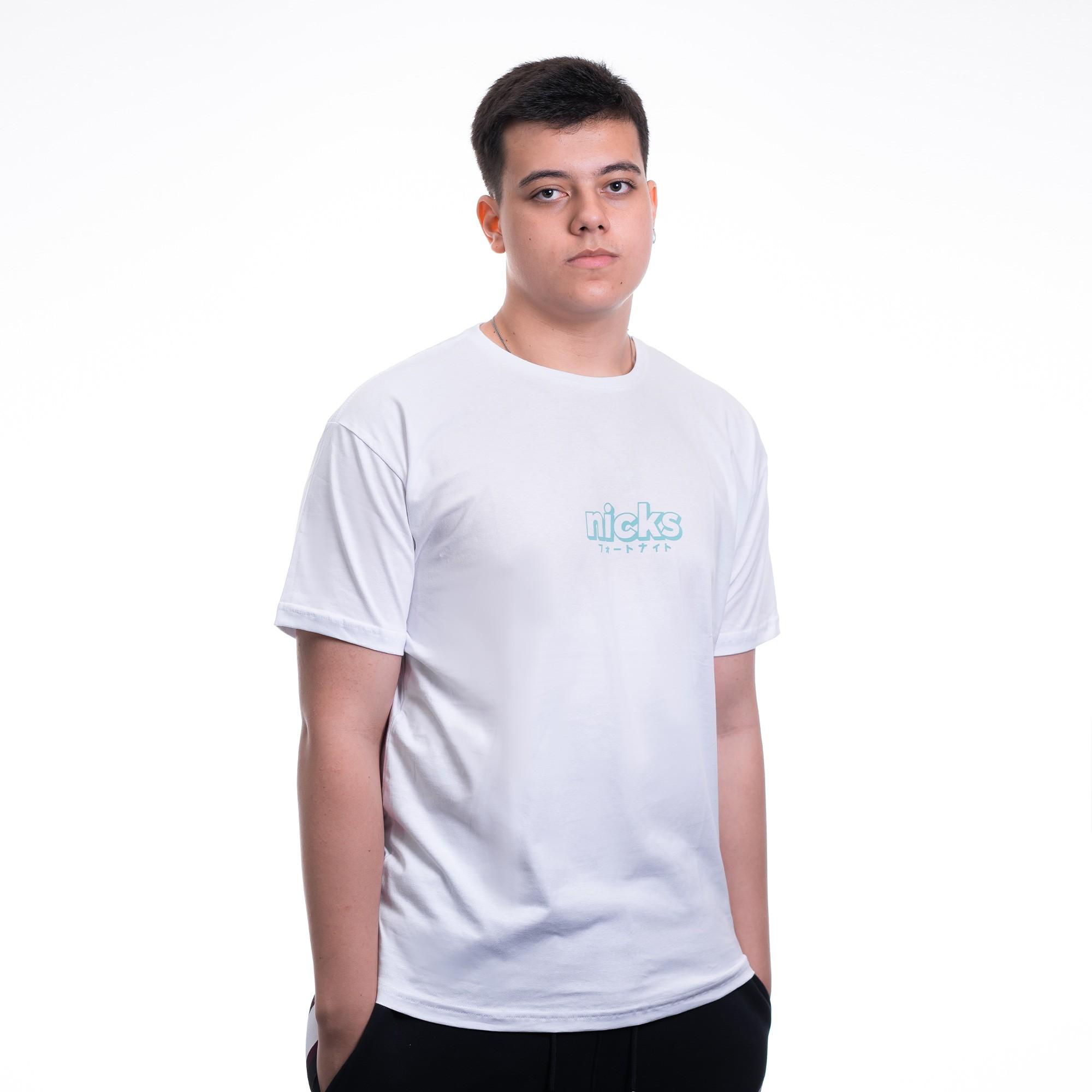 Camiseta Nicks Fps Branca