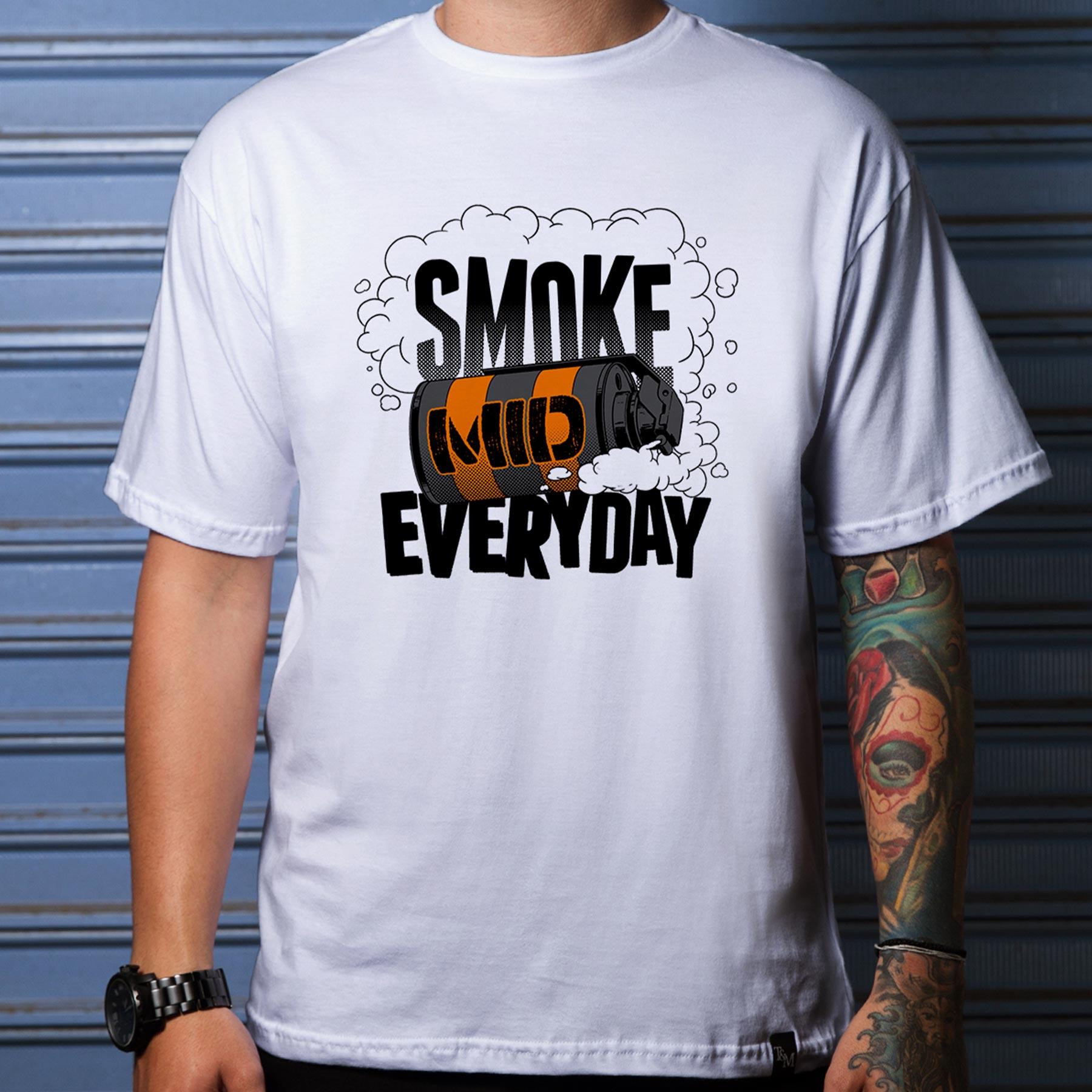 Camiseta Smoke Mid Branca