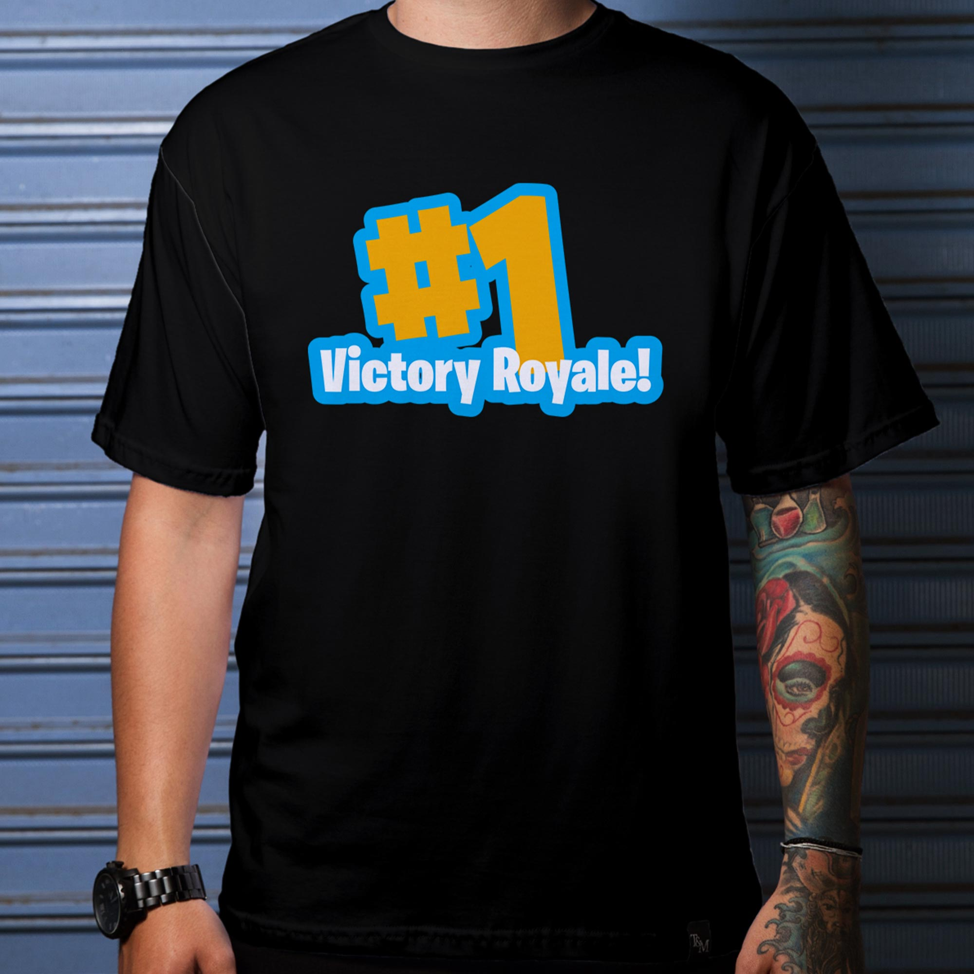 Camiseta Victory #1 Preta