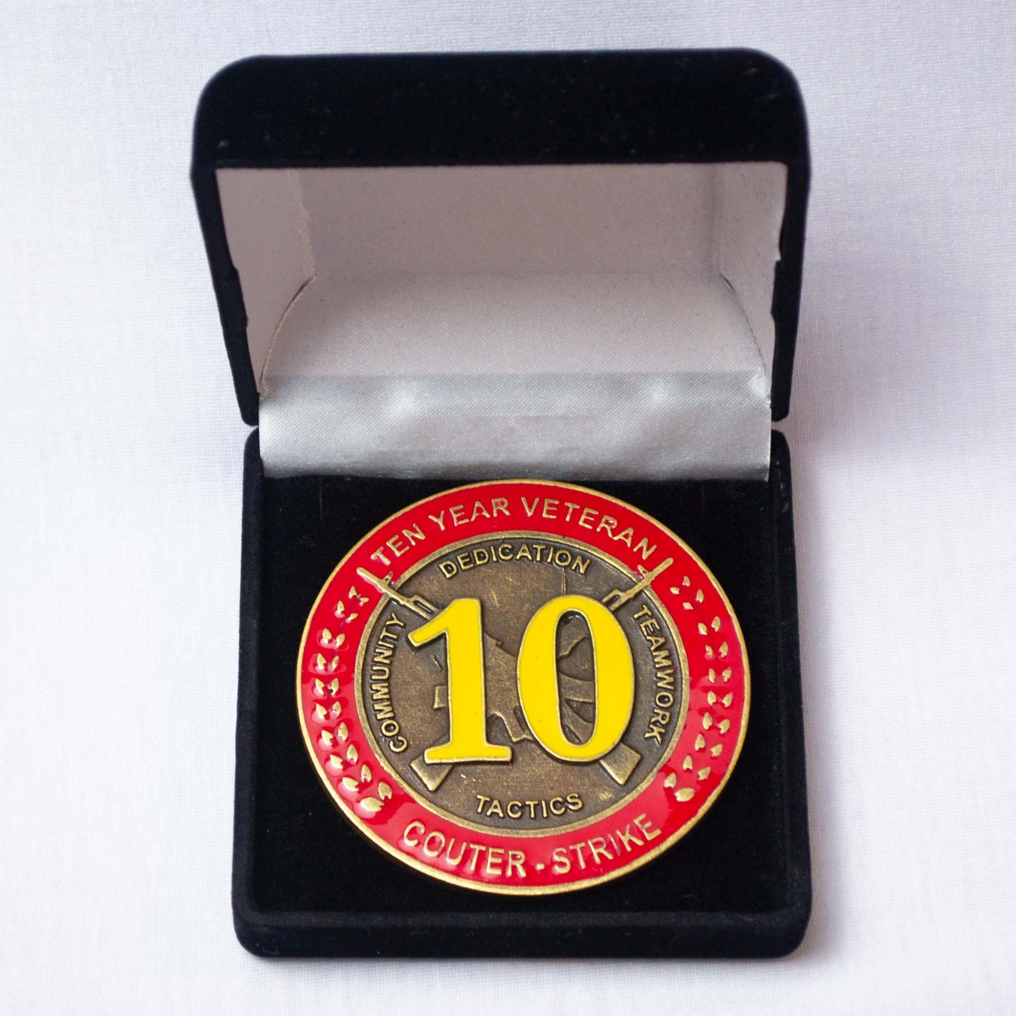 Moeda Comemorativa de 10 anos