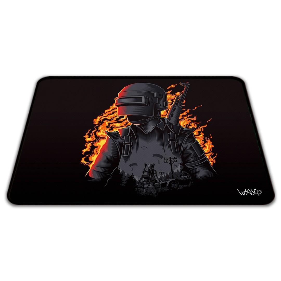 Mousepad On Fire