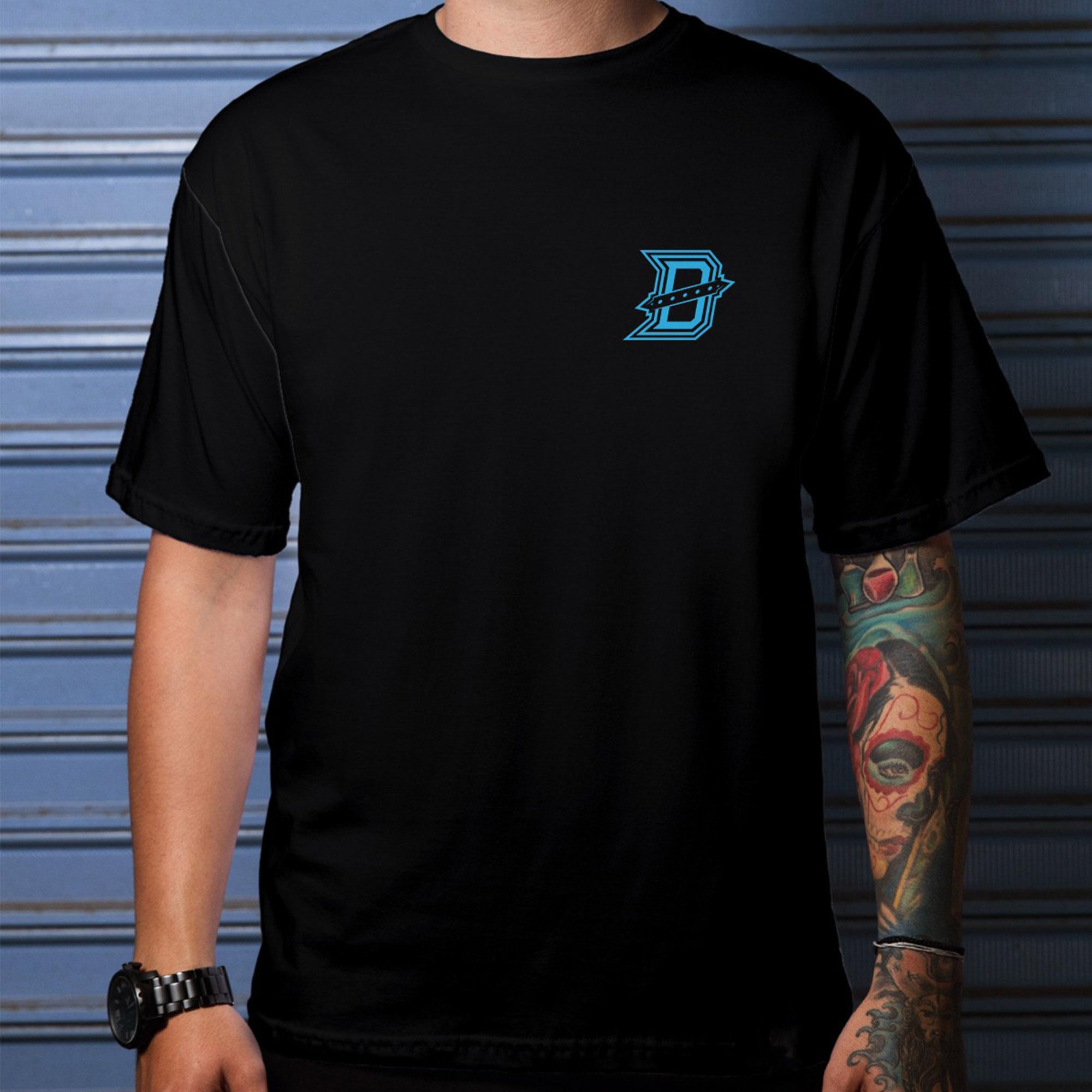 Camiseta Detona Gaming Basic Preta