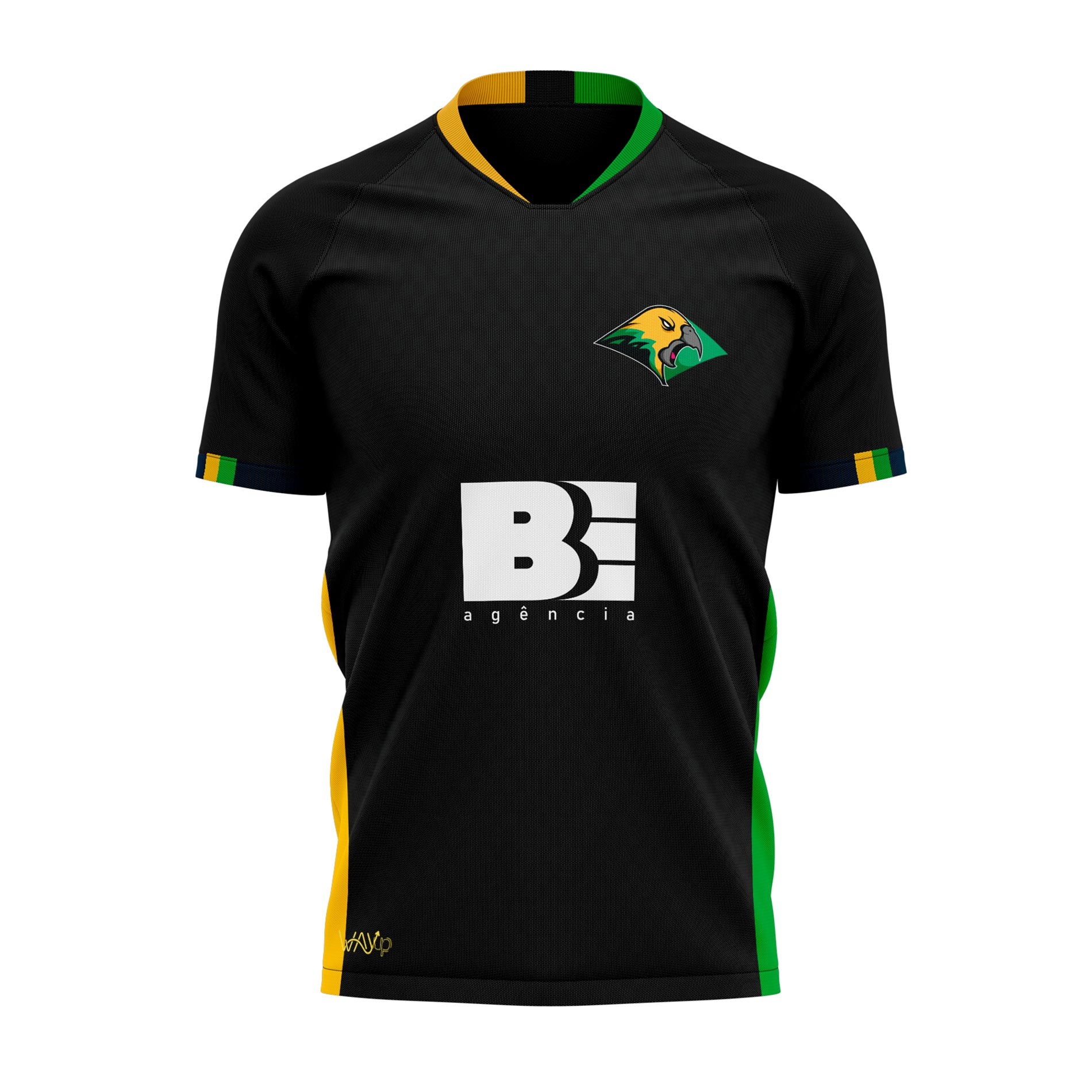 PRÉ-VENDA Camiseta Jersey Brazilian Effect Preta