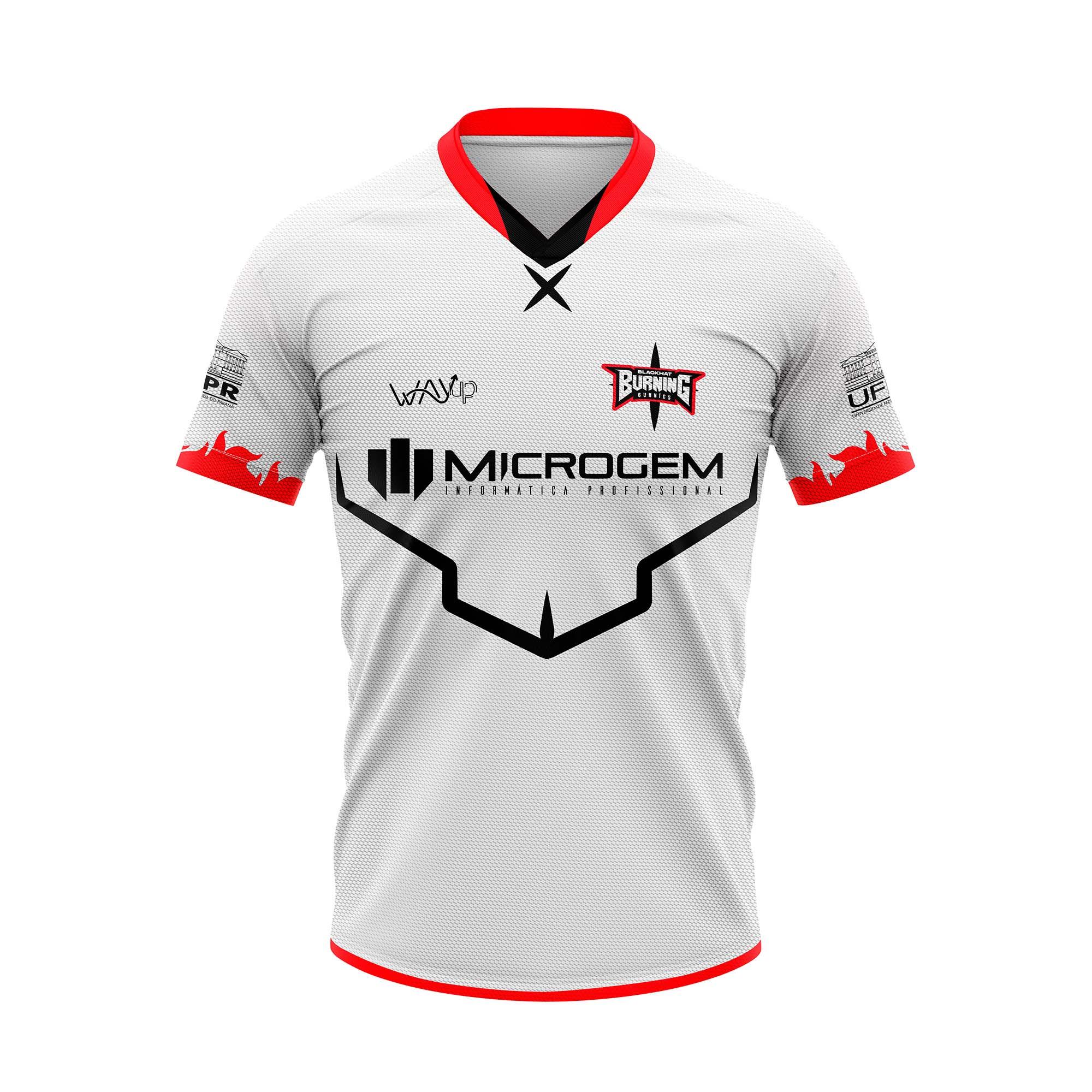 Camiseta Jersey Blackhat Burning Bunnies Oficial 2021