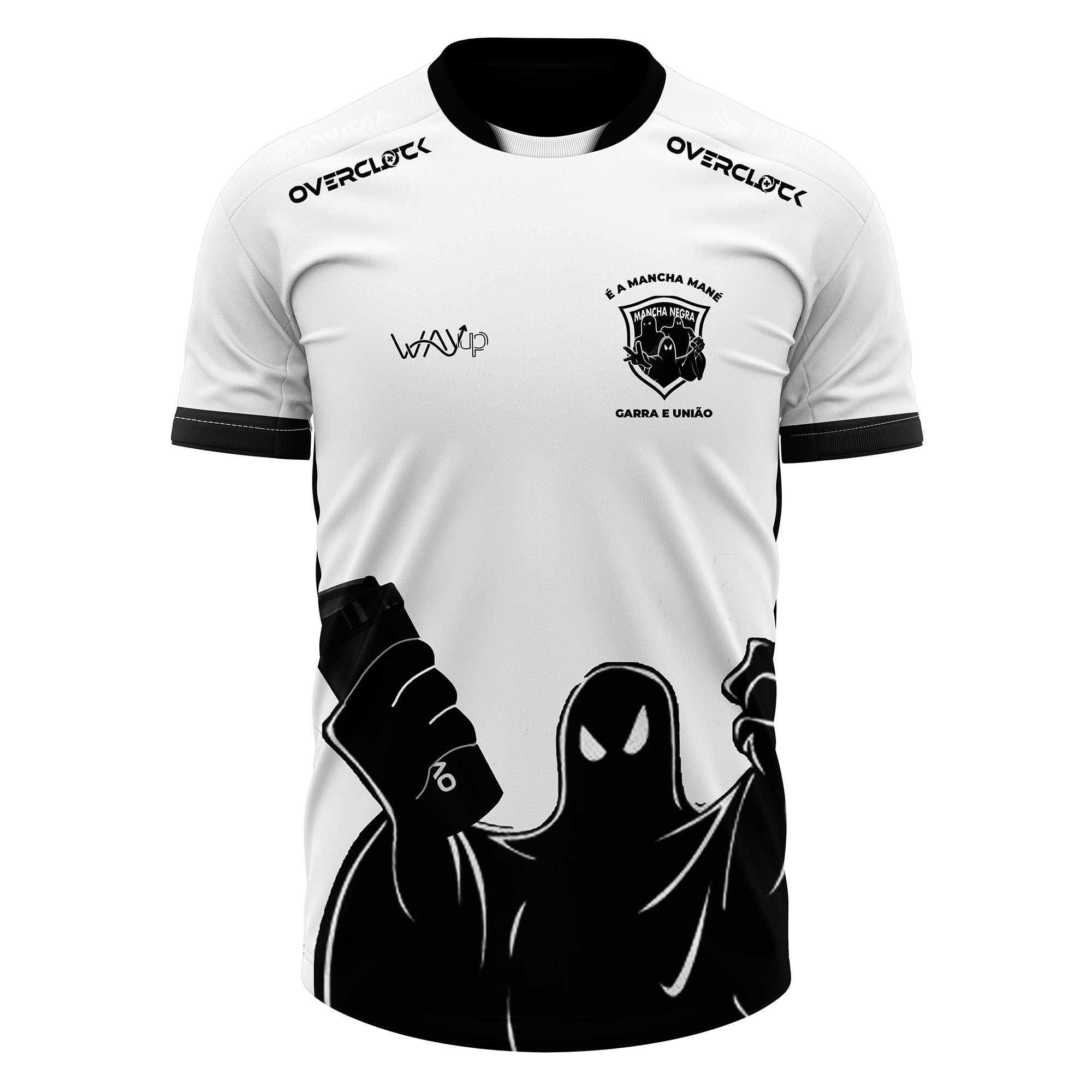 Camiseta Jersey Torcida Mancha Negra Oficial 2021
