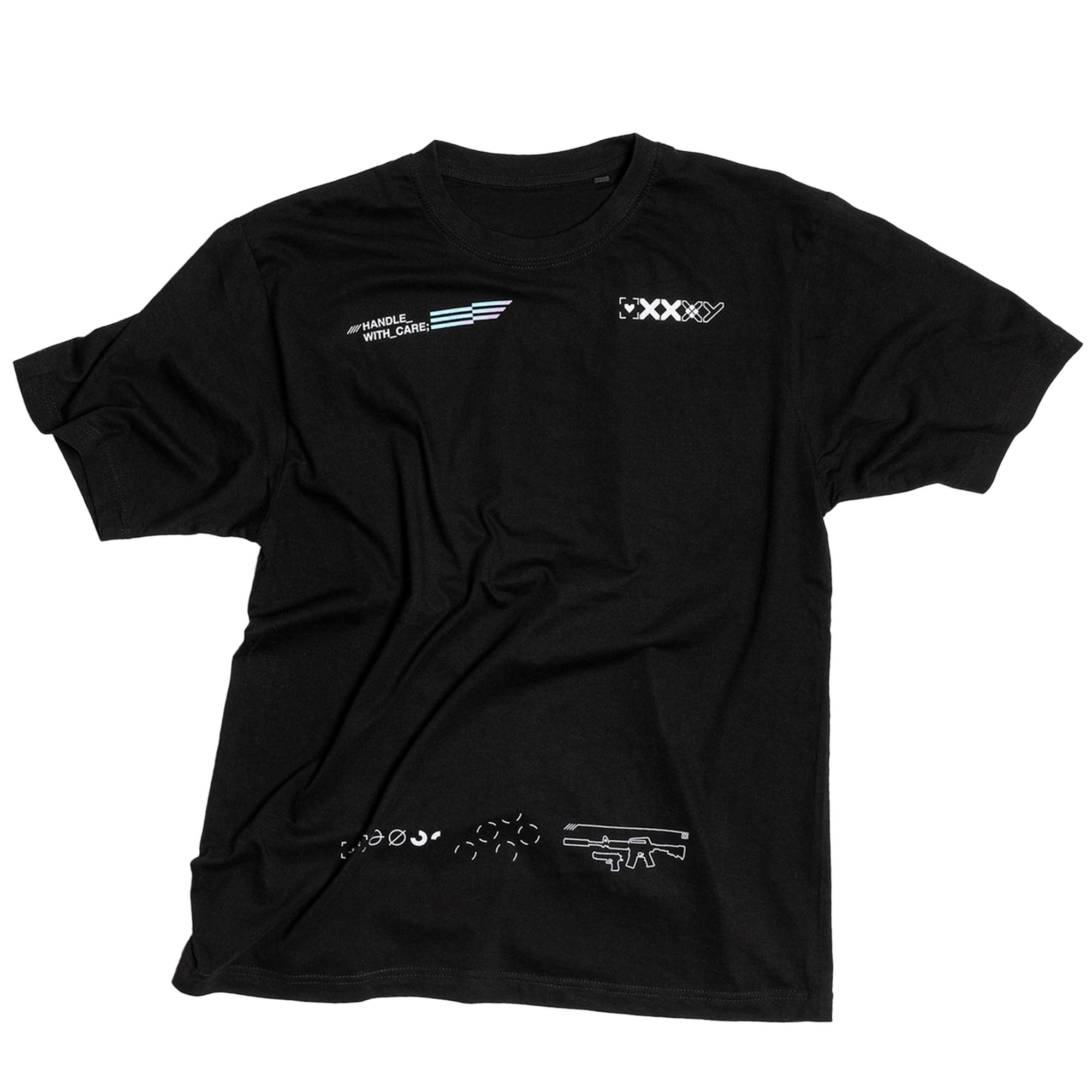 Camiseta Printstream NIP Oficial 2021 Preta