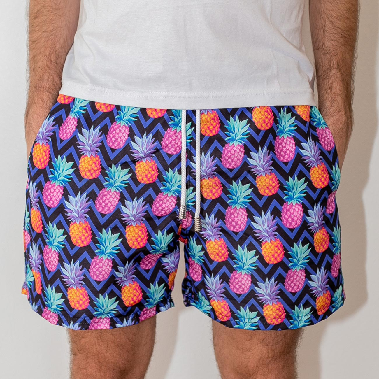 Shorts Abacaxi Purple
