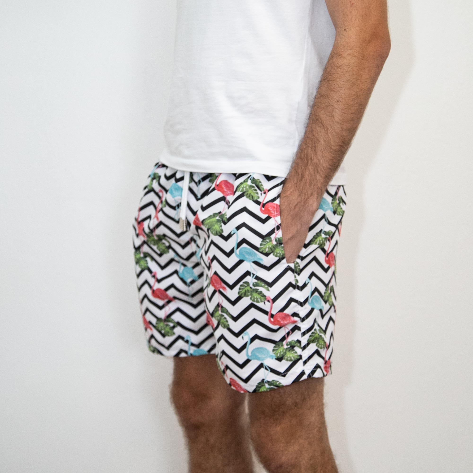 Shorts Flamingo Copacabana