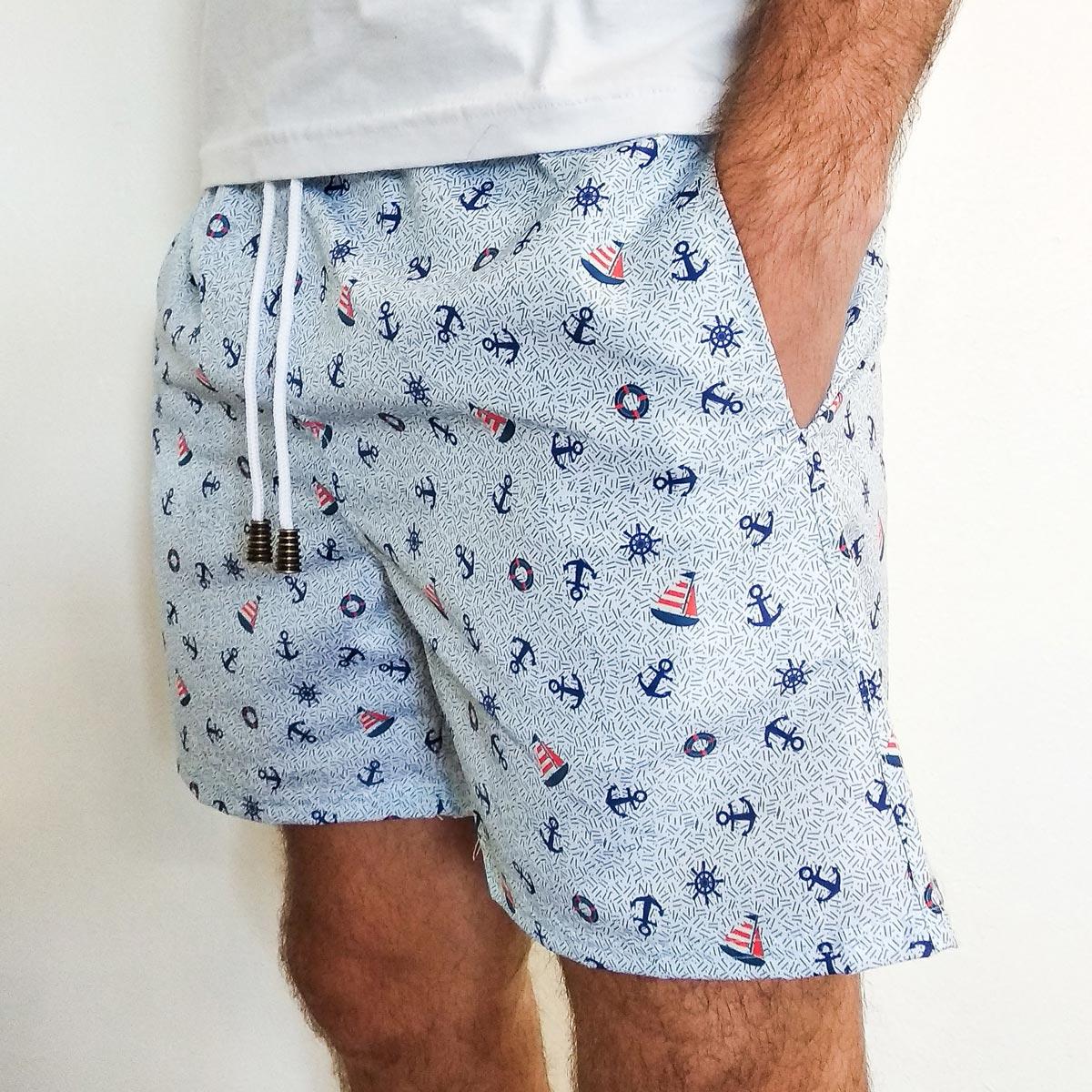 Shorts Marinheiro