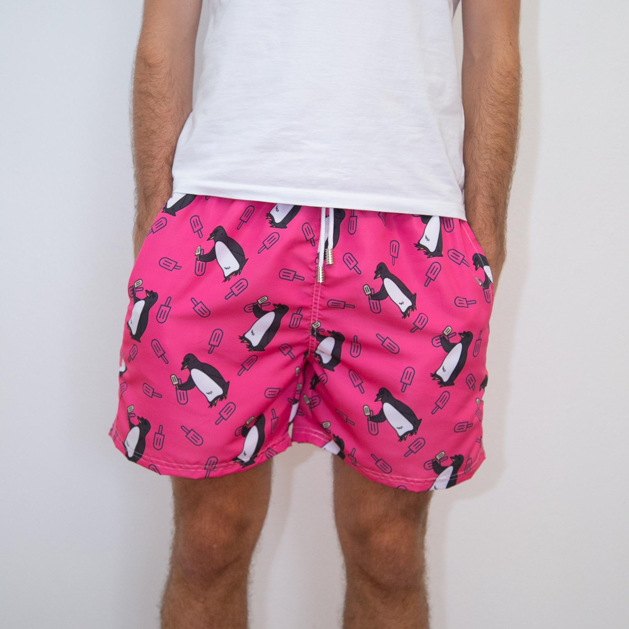 Shorts Pinguim