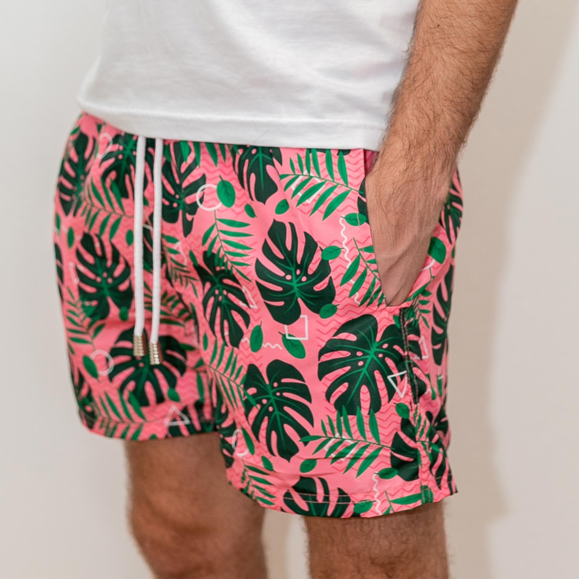 Shorts Tropical Pink
